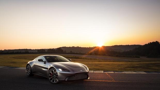 The 2018 Aston Martin Vantage V8. (Aston Martin Lagonda Ltd.)