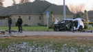 A 25-year-old man was killed in a head-on crash at Rest Acres Road and Hanlon Place in Paris. (David Ritchie)