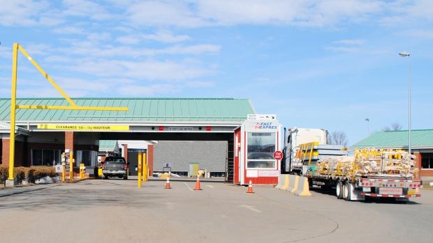 The North Portal border crossing. (CBSA)