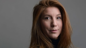 A portrait of the Swedish journalist Kim Wall taken in Trelleborg, Sweden on Dec. 28, 2015. (Tom Wall via AP)