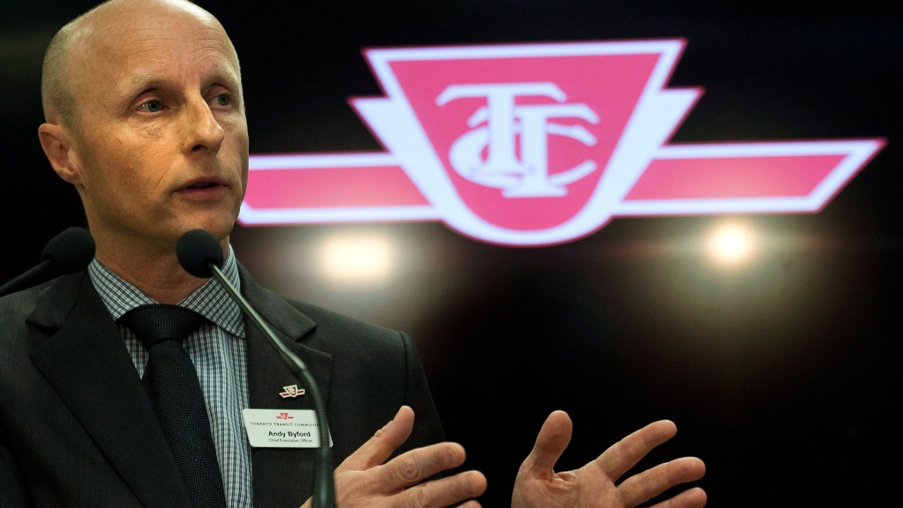 Former TTC CEO Andy Byford quits New York City transit
