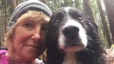 Coquitlam dog walker last seen Monday afternoon