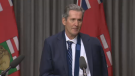 Premier Brian Pallister addressed the media Tuesday for the first time since he got lost hiking in New Mexico.