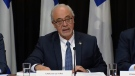 Finance Minister Carlos Leitao said the government's finances are in order, so it's time to deliver tax breaks to citizens (Nov. 21, 2017)