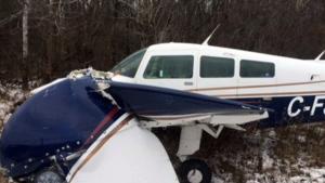 Pilot ok after plane makes emergency landing