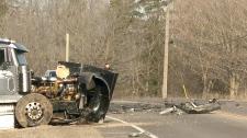 Horrific head-on crash leaves 1 person dead