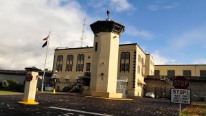 This Nov. 18, 2011 file photo shows the Oregon State Penitentiary, in Salem, Ore. (Danielle Peterson / Statesman-Journal via AP)