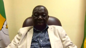 Zimbabwe's opposition leader Morgan Tsvangirai speaks with CTV News Chief Anchor and Senior Editor Lisa LaFlamme from Harare on Tuesday, November 21, 2017.