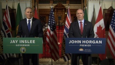 Washington governor talks up rail line to B.C.
