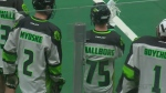 Warman product Anthony Hallborg became the first Saskatchewan-born player to...