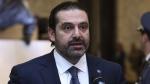 Lebanese Prime Minister Saad Hariri in Baabda, Lebanon, on Nov. 22, 2017. (Dalati Nohra via AP)