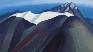 Mountains East of Maligne Lake by Lawren Stewart Harris is going up for auction. (Lawren Harris/Heffel auction House)