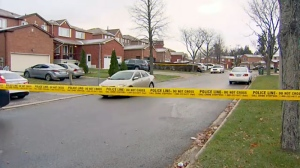 Police are investigating a fatal shooting in Scarborough's Malvern neighbourhood on Nov. 22, 2017.