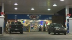 A 26-year-old man is facing a slew of charges after he allegedly confined two employees and assaulted police officers at this gas station in Dartmouth.