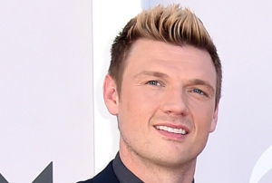 In this April 2, 2017 photo, Nick Carter of the Backstreet Boys arrive at the 52nd annual Academy of Country Music Awards in Las Vegas. (Photo by Jordan Strauss/Invision/AP, File)
