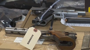 Firearms seized in Project Offshore