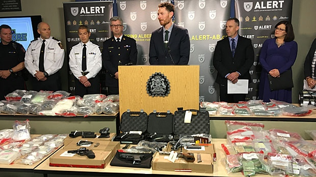 ALERT says Project Offshore netted $4M worth of drugs, one of the largest seizures in Alberta's history.