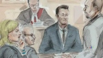 From CTV Kitchener's Nicole Lampa: The trial of tw