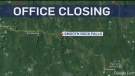 OPP closing down office Northwest of Timmins
