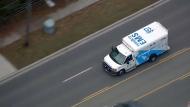 Toronto paramedics transport the victim of a stabbing in Scarborough's Malvern neighbourhood on Nov. 22, 2017.