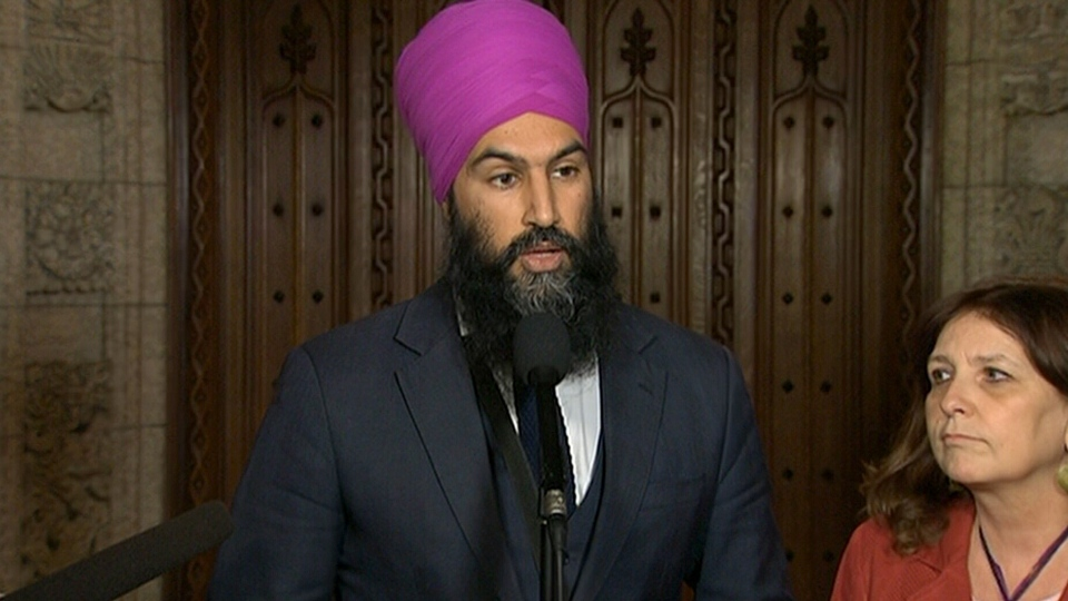 NDP Leader Jagmeet Singh said the Liberal government needs to take immediate action to tackle Canada's housing crisis.