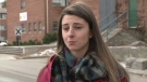 Lindsay Shepherd speaks with CTV News on Wednesday, Nov. 22, 2017.