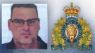 Robert Ventress, 47, is seen in a photo released by RCMP. Supplied.