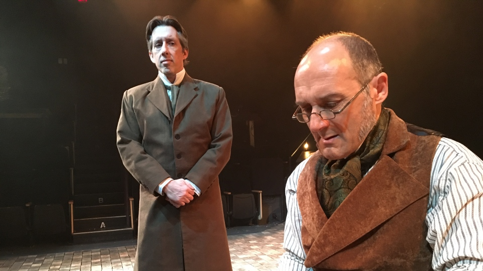 Regina's Globe Theatre is presenting a relaxed performance of 'A Christmas Carol.' (GARETH DILLISTONE/CTV REGINA)