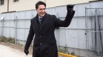 Prime Minister Justin Trudeau visits a housing development in Toronto's Lawrence Heights neighbourhood ahead of a policy announcement, on Wednesday November 22, 2017. (THE CANADIAN PRESS/Chris Young)