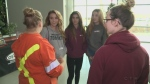 Girls learn about careers in tech and trades