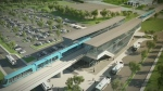 The Caisse de Depot's infrastructure arm provided this illustration of what an REM station would look like