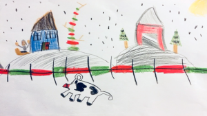 Molly Dowe, 6 years old, Grade 3, Onslow Elementary School, Quyon, QC