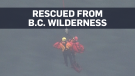 Woman found in B.C. wilderness