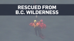 Woman found in B.C. wilderness