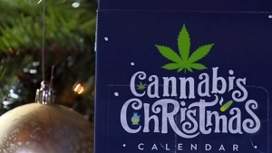 Sales of pot advent calendars smoking hot