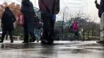 Record breaking temperatures come with rain storm