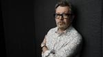 Actor Gary Oldman, who plays Winston Churchill in the film 'Darkest Hour,' poses for a portrait during the Toronto International Film Festival in Toronto on Sept. 12, 2017. (Chris Pizzello / Invision)