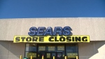 Sears began the process of liquidating its remaining stores in October