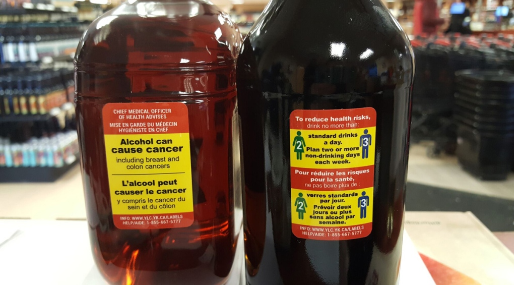 New alcohol warning labels