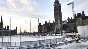 Parliament Hill hockey rink