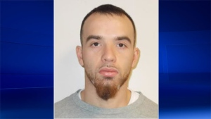 Dustin Leblond can be seen in this photo provided by the OPP.