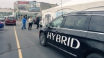 Chrysler Pacifica Hybrid test drive event in Windsor, Ont., on Thursday, Nov. 23, 2017. (Sahca Long / CTV Windsor)