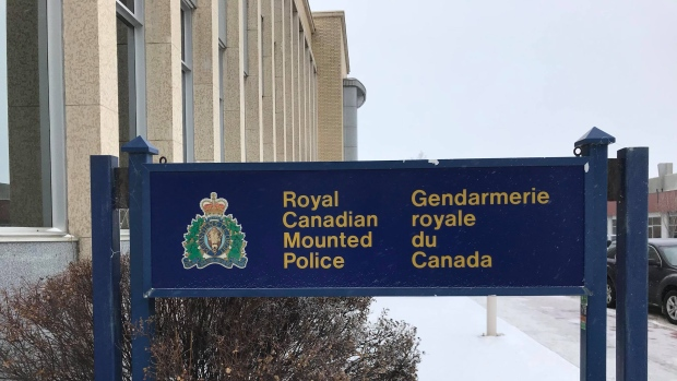 Yorkton Municipal RCMP sign