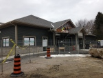 Construction is almost done at the Bracebridge Medical Arts Centre in Bracebridge, Ont. on Thursday, Nov. 23, 2017. (K.C. Colby/ CTV Barrie)