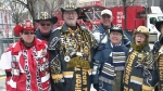 Fans arrive for Grey Cup Festival