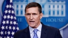 In this Feb. 1, 2017 photo, former U.S. National Security Adviser Michael Flynn speaks during the daily news briefing at the White House, in Washington. (Carolyn Kaster/AP Photo)
