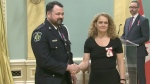 CTV National News: Rewarded for bravery