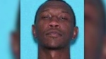 Dabrett Black, 32, is seen in this undated image released by police.