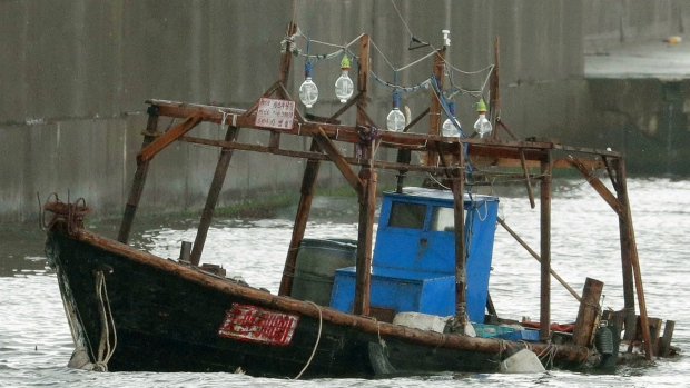 Boat washed ashore with N Koreans disappears from port in Akita Pref