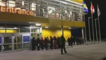 Maritimers started lining up early outside the IKEA in Dartmouth on Black Friday.